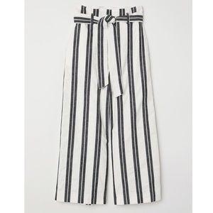 H&M Wide Leg Cotton Pants